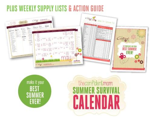 Summer Calendar Toolbox